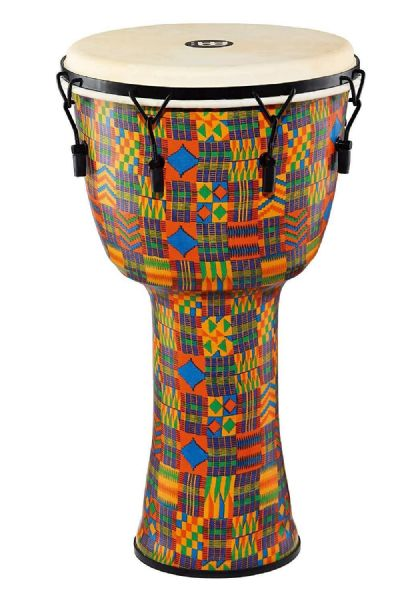 Meinl Percussion 14 inch Travel Series Djembe - Kenyan Quilt - PMDJ2-XL-G